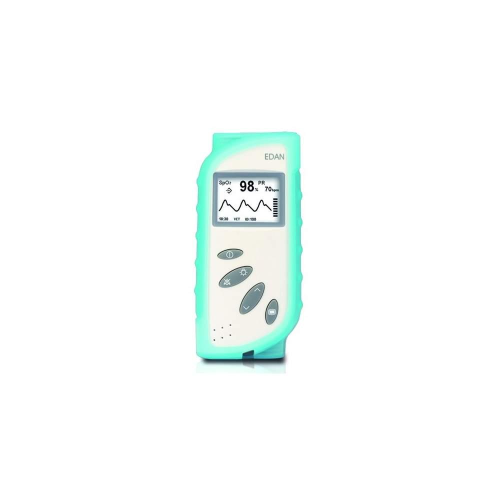 Capa de silicone para eyd20185 oxímetro de pulso. Cor azul .