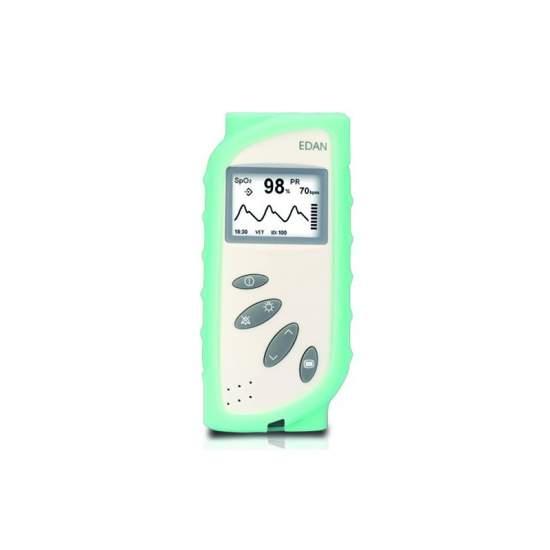 Custodia in silicone per eyd20185 Pulsioximetro. Verde. - Custodia in silicone per eyd20185 Pulsioximetro. Verde.