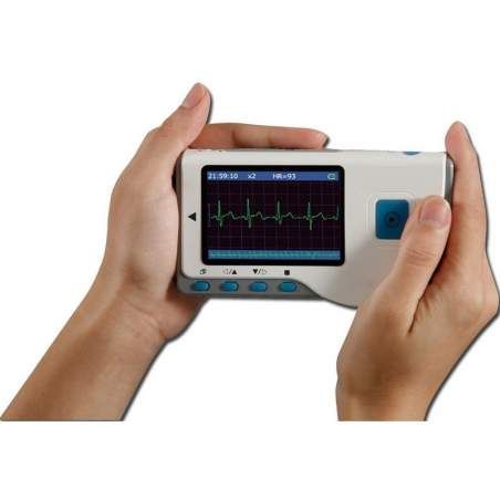 Electrocardiograph designed for general household or doctors.