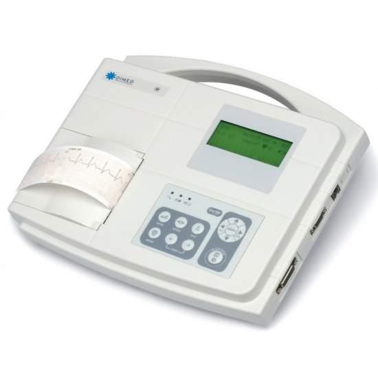 Electrocardiógrafo 1-canal.