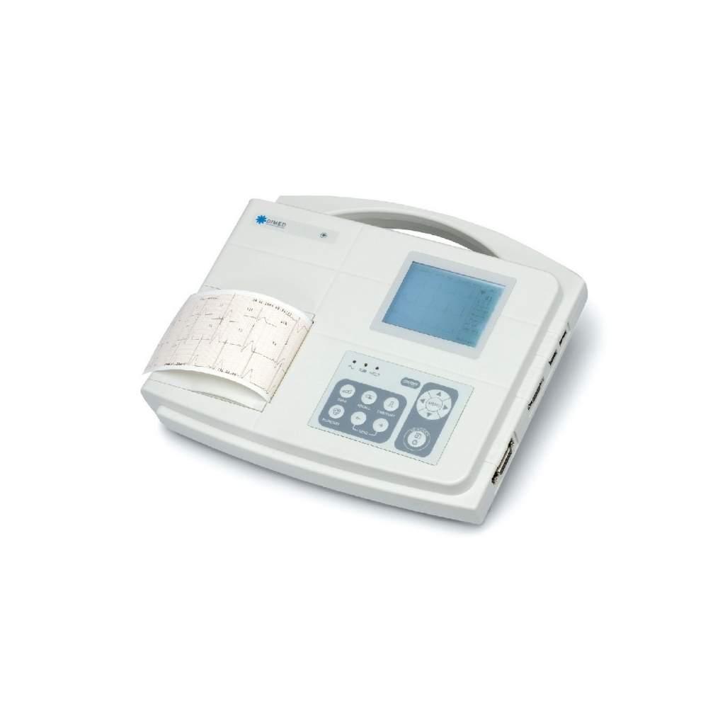 1/3 canal eletrocardiógrafo interpretação do diagnóstico.