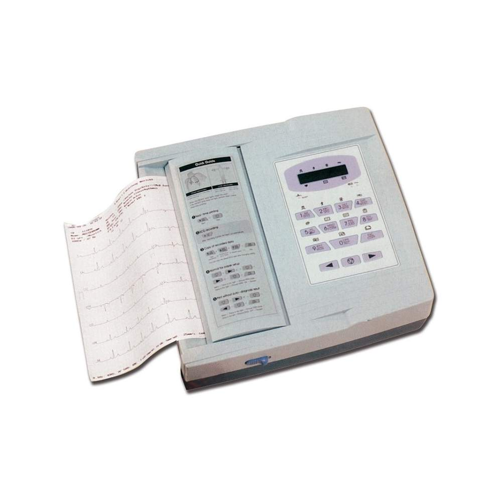 Electrocardiografo de 12 canales con interpretacion - Electrocardiografo de 12 canales con interpretacion. 95 diagnosticos.