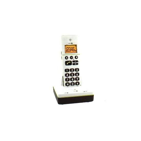 Teléfono inalámbrico fácil de usar AD336W