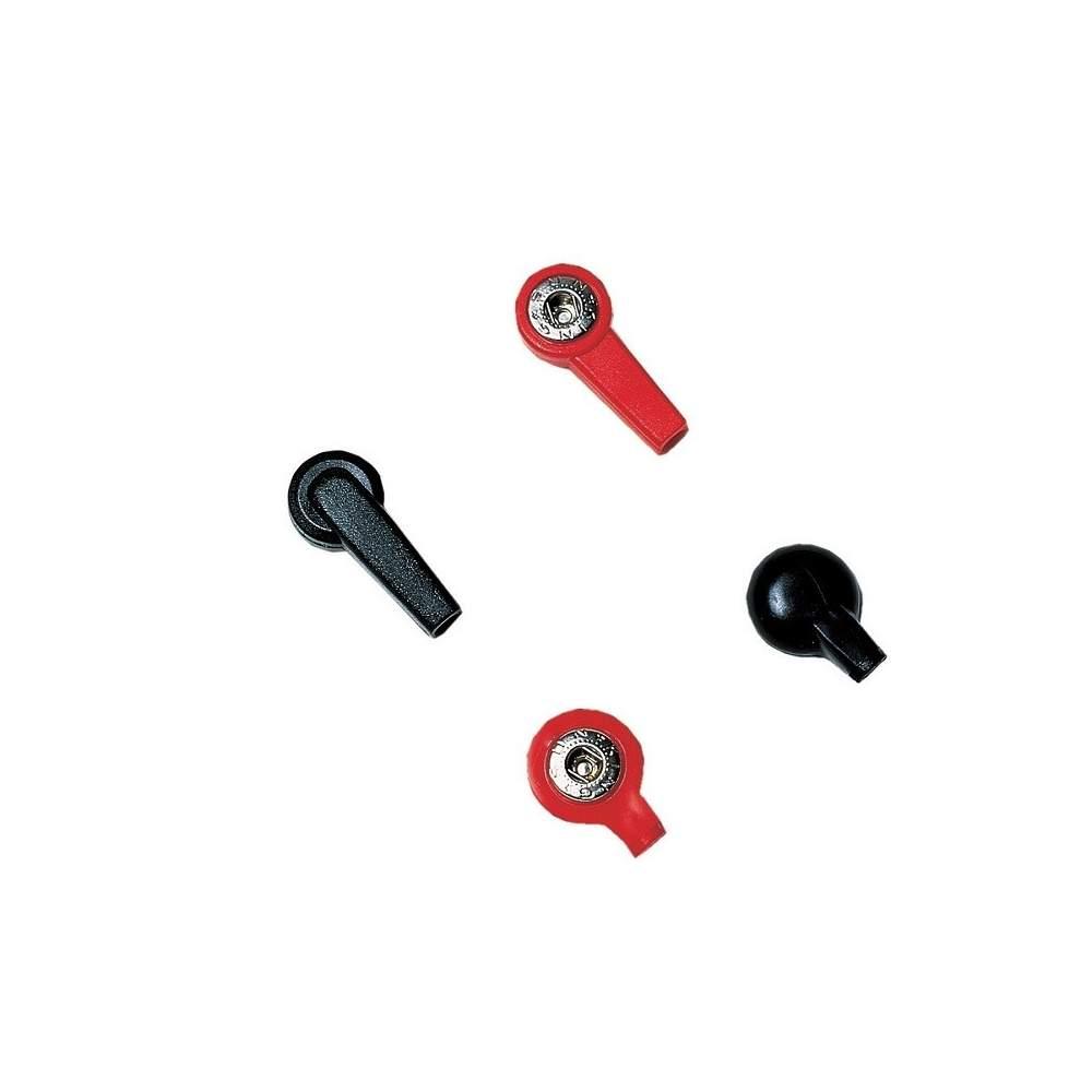 Clip adaptateur trou noir 4mm femelle.