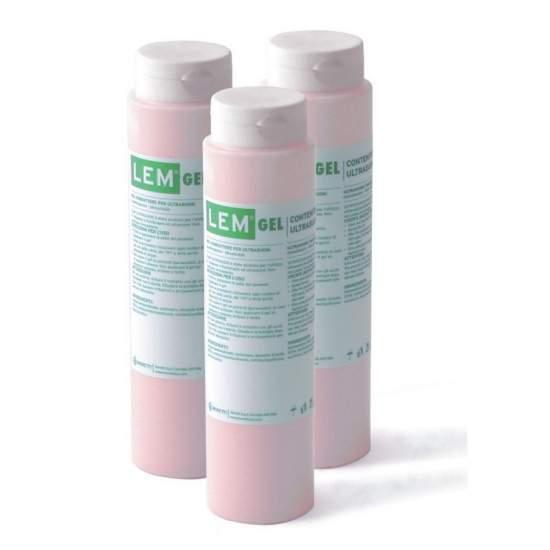 Paquet de 25 unités gel incolore électrocardiographe 260 gr.