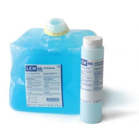 5 kg de bleu de gel de l'échographie. Distributeur rechargeable avec 260 gr.