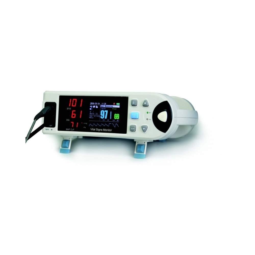 """Monitor con pantalla lcd de 3,5"""" con pulsioximetria. - Monitor con pantalla lcd de 3,5"""" con pulsioximetria."""