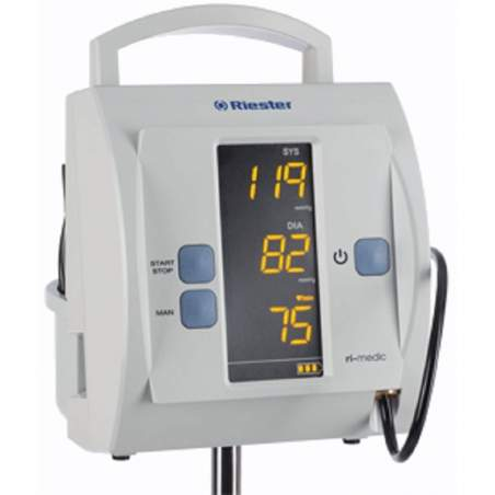 Monitor blood pressure for clinical use standing