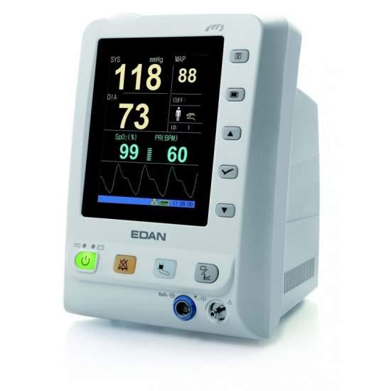 Moniteur de signes vitaux PNI (pression non invasive) avec la couleur LCD de 13,5 x 10,5 cm.