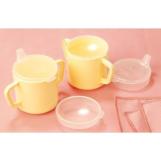 Vaso de plástico con dos asas H5720 - Plastic cup with two handles