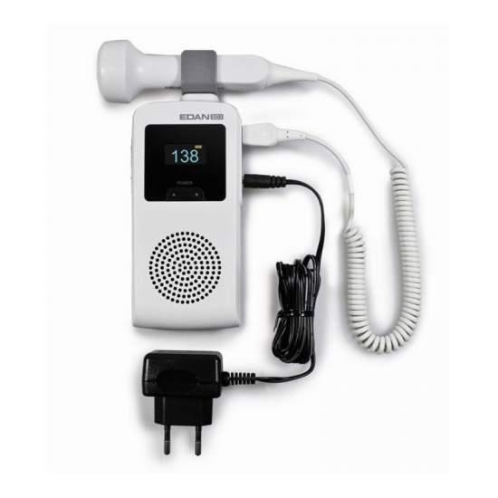 Doppler ultrasound fetal 3MHz waterproof probe.