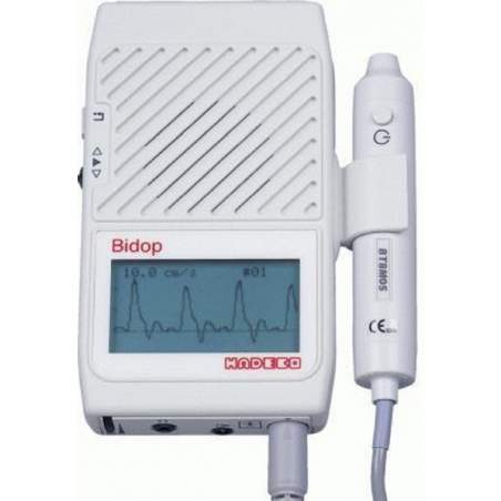 Bidirecional Doppler vascular LCD.