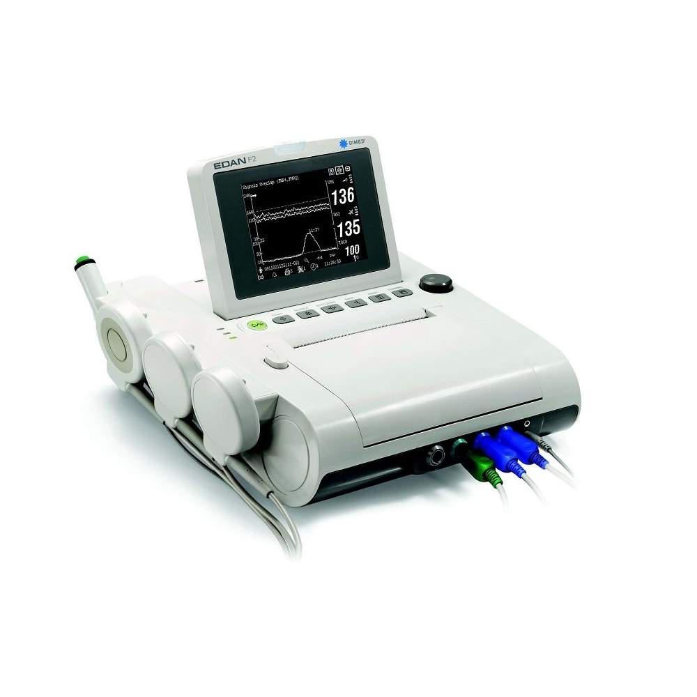 Monitor fetal con pantalla en blanco y negro plegable 5,6 - Monitor fetal con pantalla en blanco y negro plegable 5,6