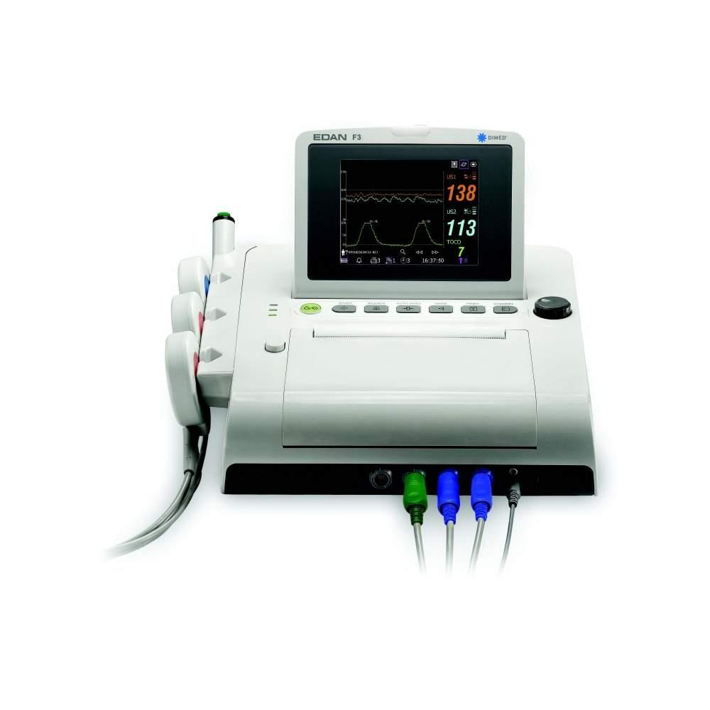 Monitor fetale con il colore portatile a doppio schermo