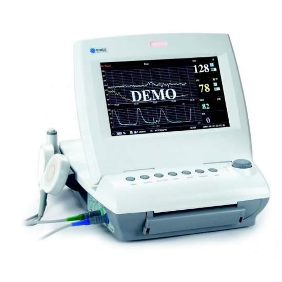 Monitor fetal Twin com parâmetros básicos