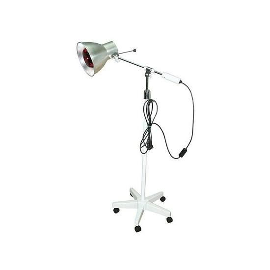 Rodable di lampada in legno