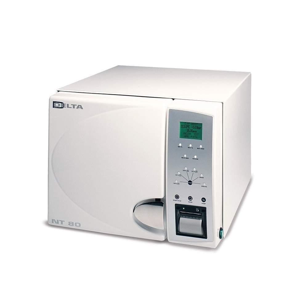 Classe B de autoclave de 15 litros de 5 ciclos, com impressora.