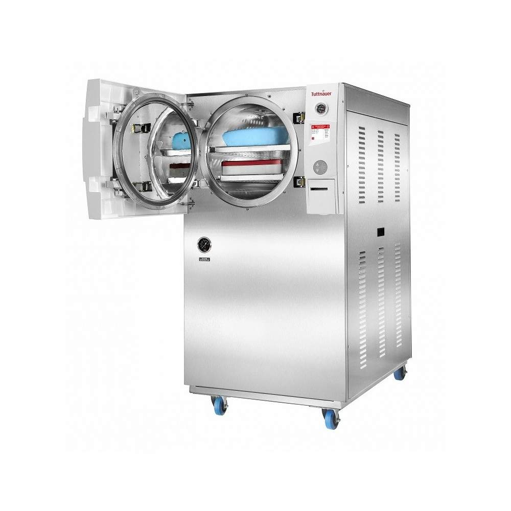 Horizontal autoclave of 85 liters automatic class b.