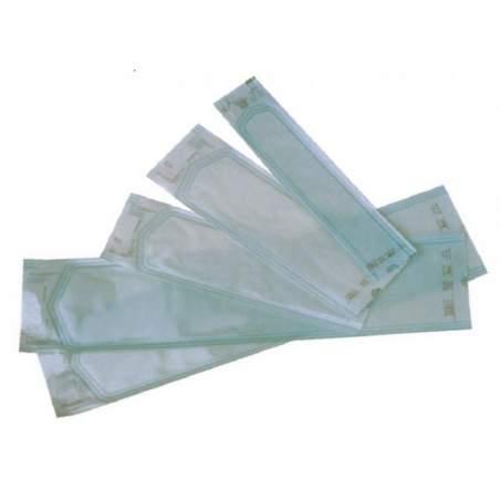 Enveloppes de papier médical avec soufflet vapeur ou la stérilisation de gaz. 200 x500 mm X55. 250 enveloppes