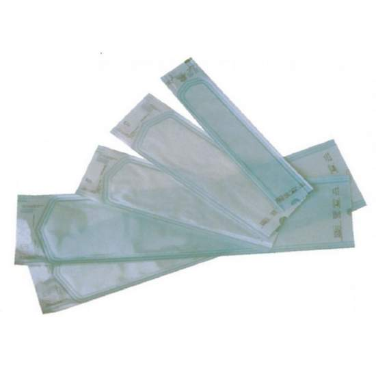 Envelopes de papel médicas com fole de vapor ou de gás de esterilização. 250 x500 mm X65. 250 envelopes