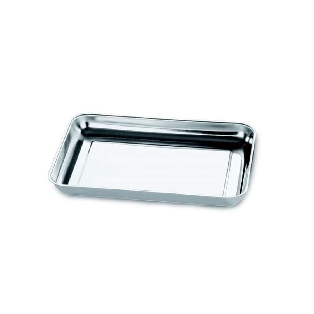 Batea ac/inox.18/10 impresa sin soldaduras. 150 x 200 x (h)25 mm - Batea ac/inox.18/10 impresa sin soldaduras. 150 x 200 x (h)25 mm