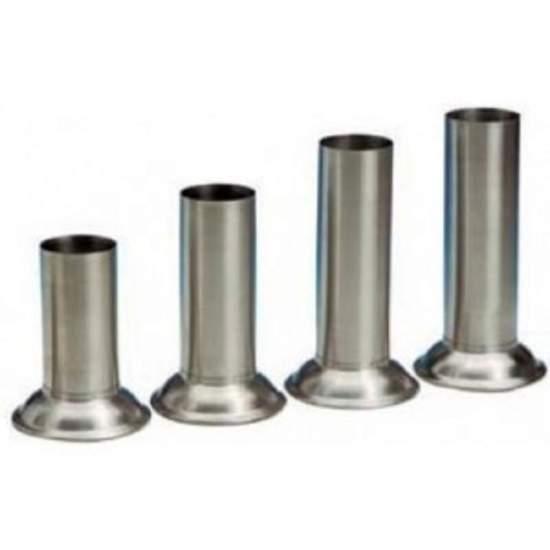 Seau ac / acier. 18/10 pour instrumentales thermomètres. 55 x 140 mm