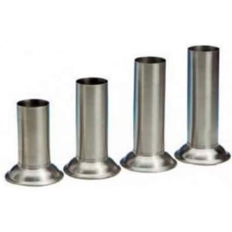 Seau ac / acier. 18/10 pour instrumentales thermomètres. 55 x 170 mm