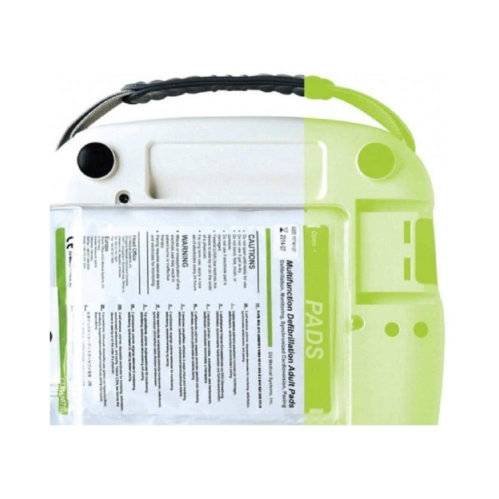 Remendo ADULTO kit desfibrilador EME10203