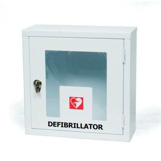 PAREDE gabinete com envidraçada com alarme de bloqueio por EME10202 Desfibrilador - EME10203.