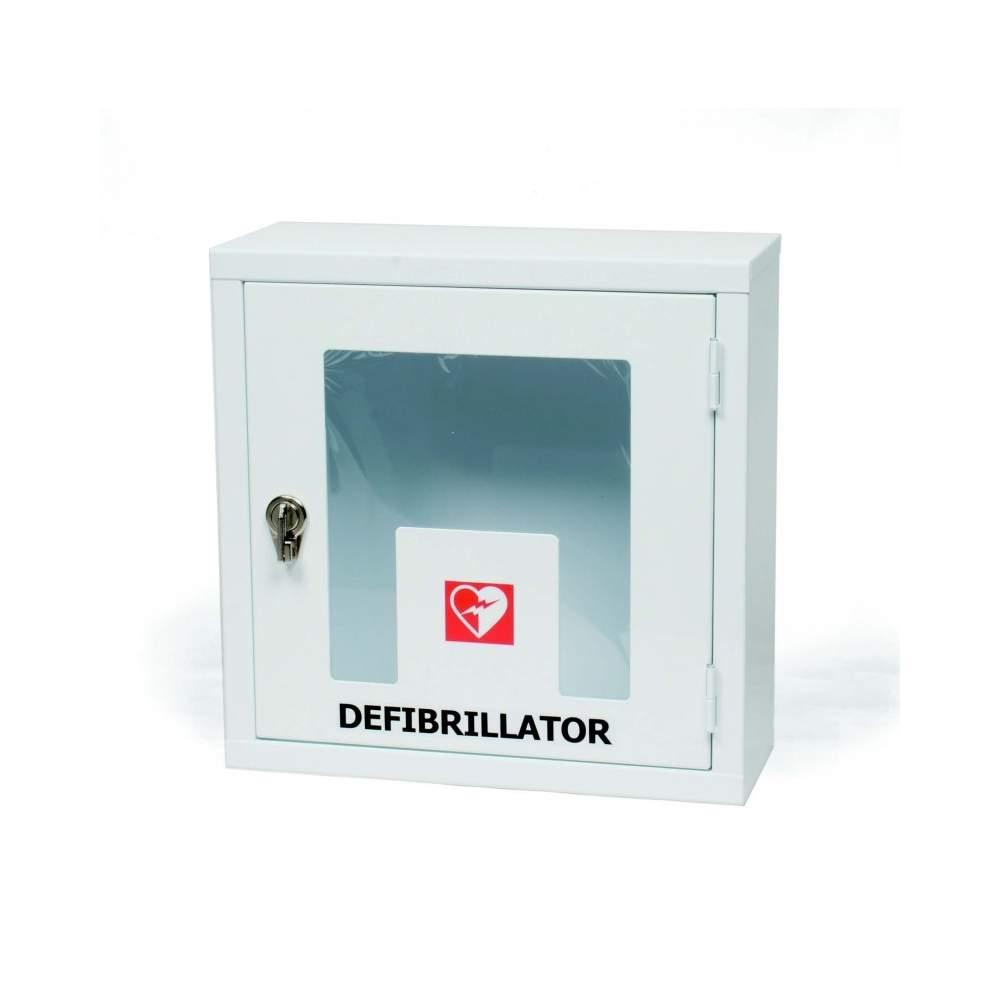 WALL CABINET WITH GLAZED WITH ALARM LOCK EME10202 Defibrillator - EME10203.