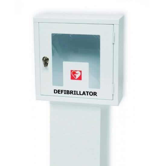 LOCK DISPLAY STAND WITH GLAZED EME10202 Defibrillator - EME10203.