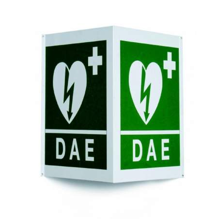 POSTER WALL WITH SYMBOL SIDED defibrillation.