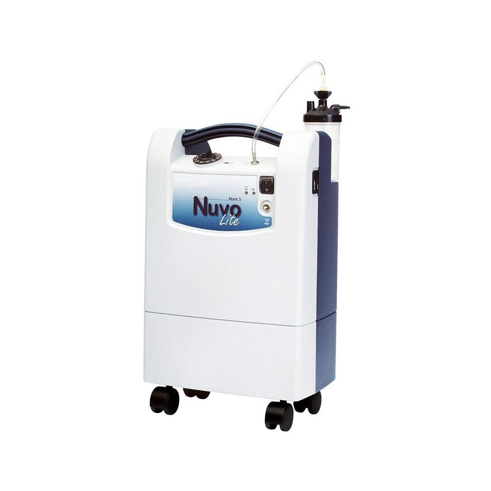 Portable oxygen concentrator WITH WHEELS