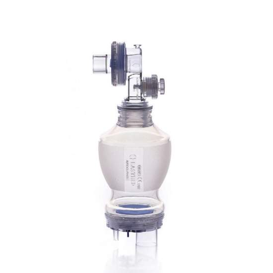 Autoclavable silicone resuscitator WITH SAFETY VALVE - Autoclavable silicone resuscitator WITH SAFETY VALVE