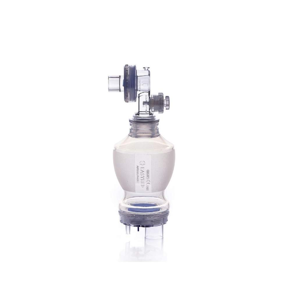 Autoclavable silicone resuscitator WITH SAFETY VALVE