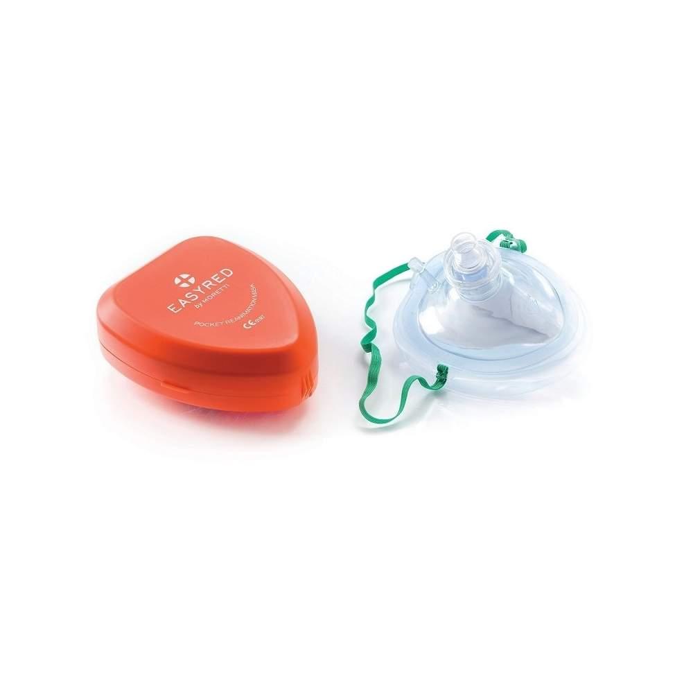Maschera per adulti con valvola e filtro anti-REFLUSSO