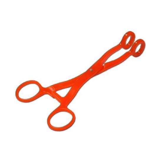 COLLIN TIRALENGUAS CLIP de policarbonato de 18cms laranja.