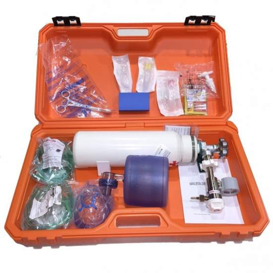 SUITCASE FULL MEDICAL EMERGENCY - SUITCASE FULL MEDICAL EMERGENCY