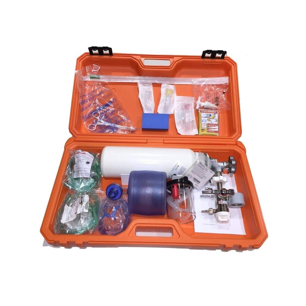 SUITCASE FULL MEDICAL EMERGENCY