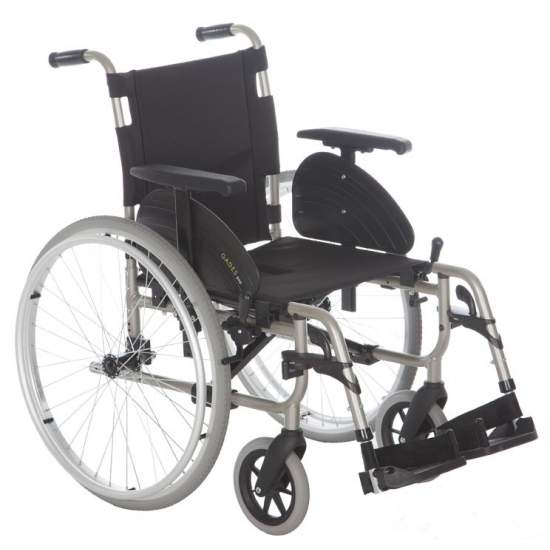 Cadeira de rodas Gades GAP 600mm rodas de alumínio