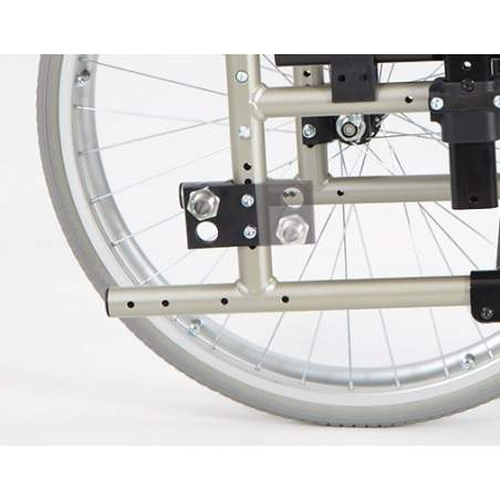 Silla de ruedas gades gap aluminio ruedas 600mm - Sillas de ruedas de aluminio plegables ...