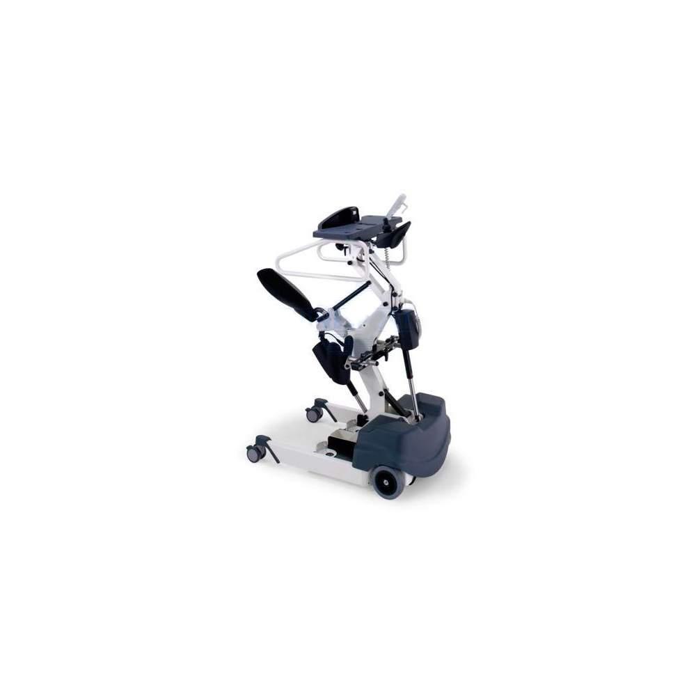 Bipedestador Struzzo  - Bipedestador Struzzo. El equipo permite al usuario asumir y mantener una postura erguida y avanzar en el interior de forma independiente sin la ayuda de un operador.