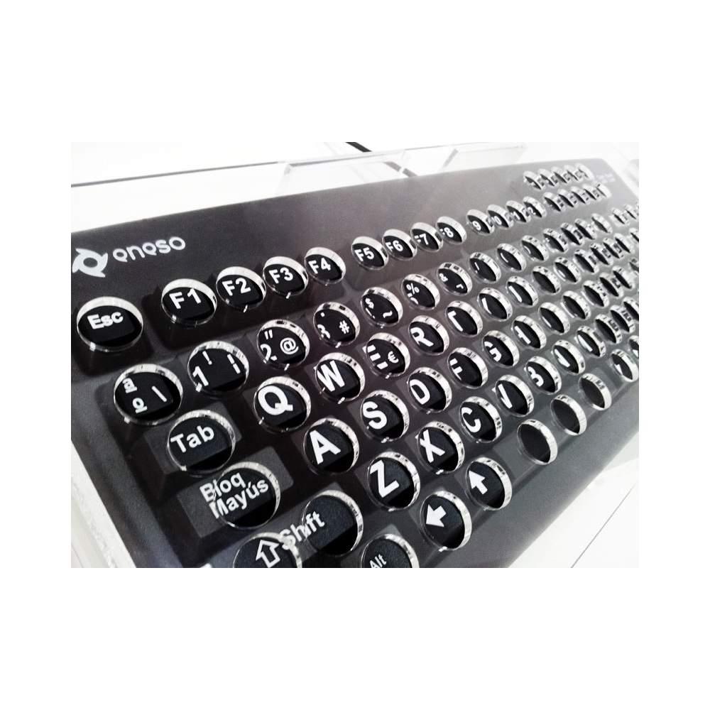 Tastiera con tasti grandi copertura in metacrilato - Tastiera del letto ...