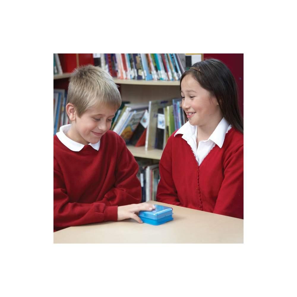 Comunicador secuencial y aleatorio - Botón sencillo con varios mensajes