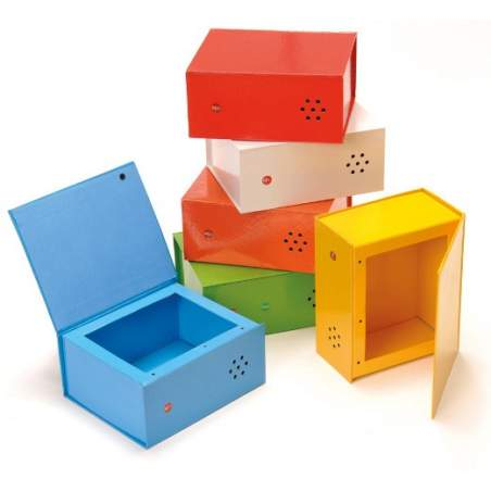 6 alto-falantes Caixas multicolor
