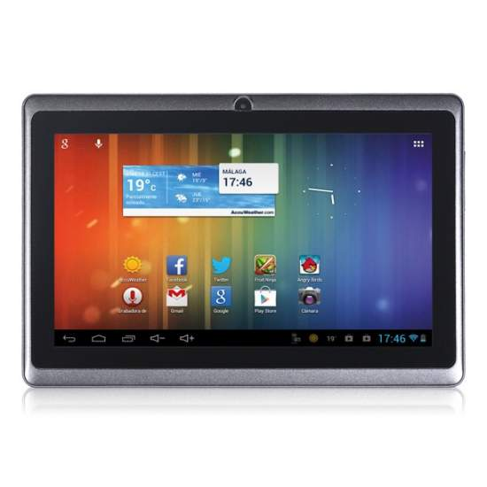 Tablet Talius Quartz - Android 4.1. Dual core a 1.2GHz, 8GB, 7 pulgadas, HDMI. Soporta dongle 3G