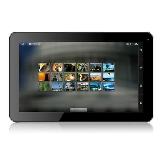 Tablet Talius Zircon - Android 4.2. Dual core a 1.6GHz, 8GB, 10.1 pulgadas, bluetooth, HDMI. Soporta dongle 3G