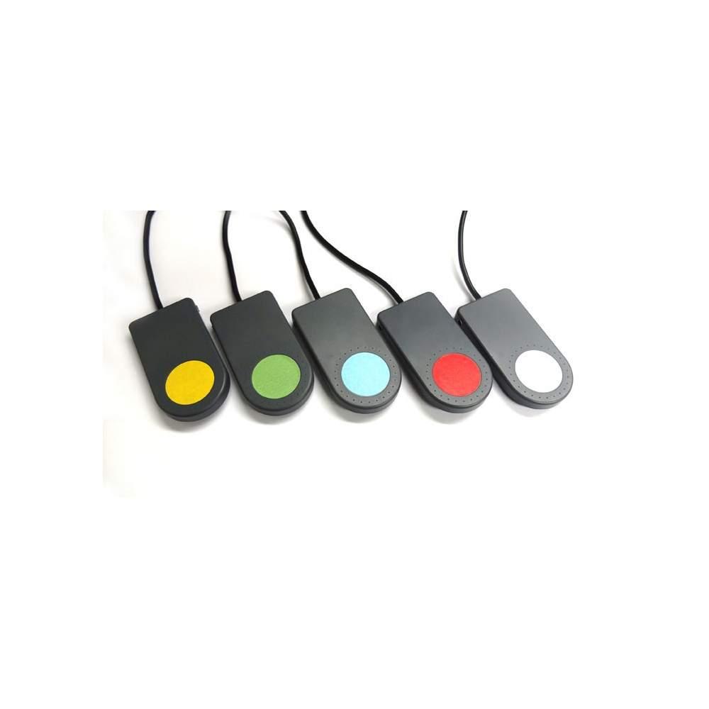 Popz conmutador - Pulsador sencillo con conexión jack