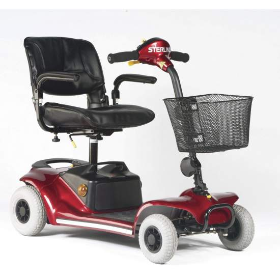 Stearling Pearl 4 Wheel Scooter -  Removable and with great autonomy