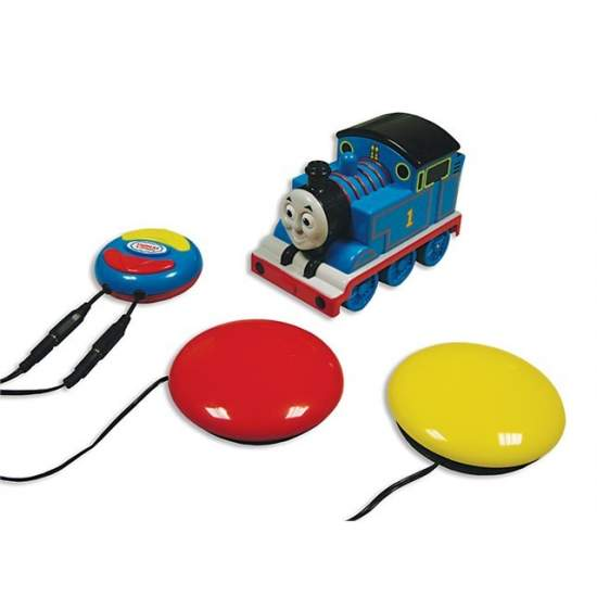 Thomas trem por rádio